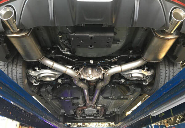 Car Custom Exhaust Replacement